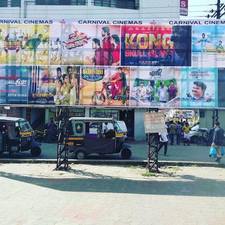 #cartelera de #cine #malayalam #angamaly #kerala #india