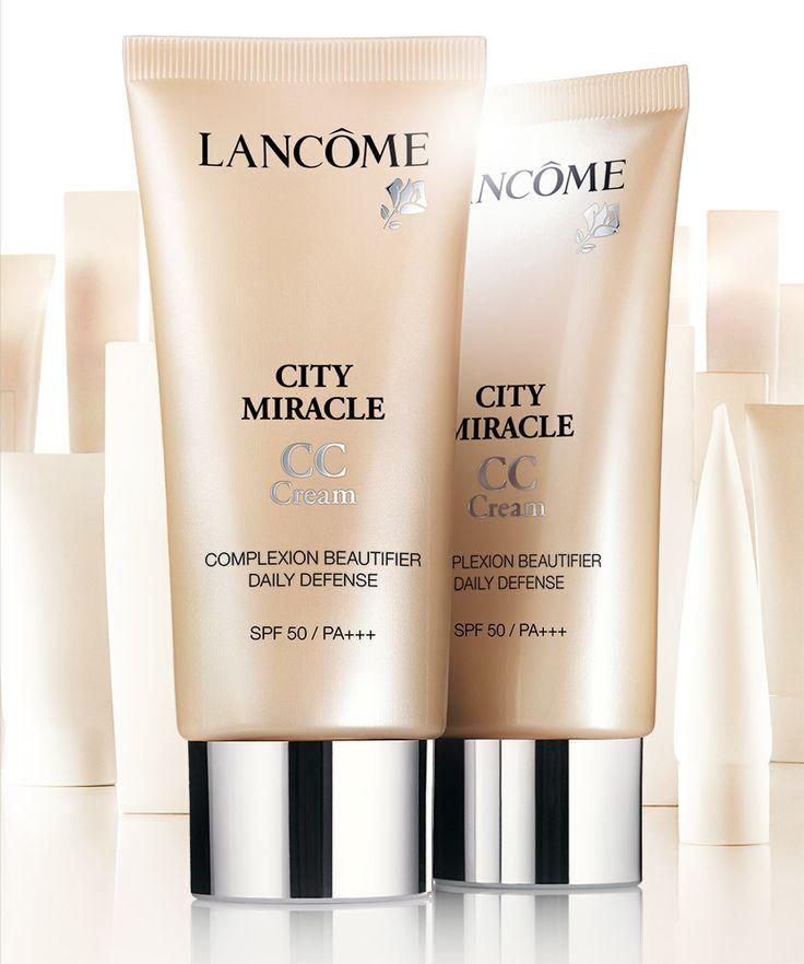 UUTUUS! Lancôme - Lancôme City Miracle SPF 50 CC-voide 30 ml. Kaunistaa ja suojaa ihoa. SPF 50.