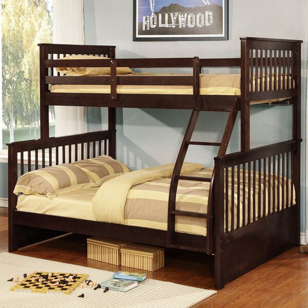 Warmley Twin Over Full Bunk Bed Bunk Beds Modern Bunk Beds Wooden Bunk Beds