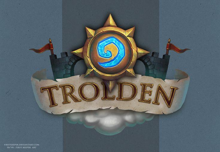 Trolden Hearthstone logo by FirstKeeper