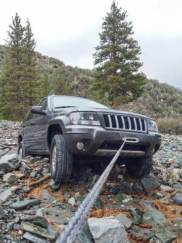 Jeep Grand Cherokee Hidden Winch Mount