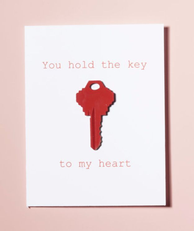 Best 20 Homemade Romantic Gifts ideas – Valentine Cards for Her