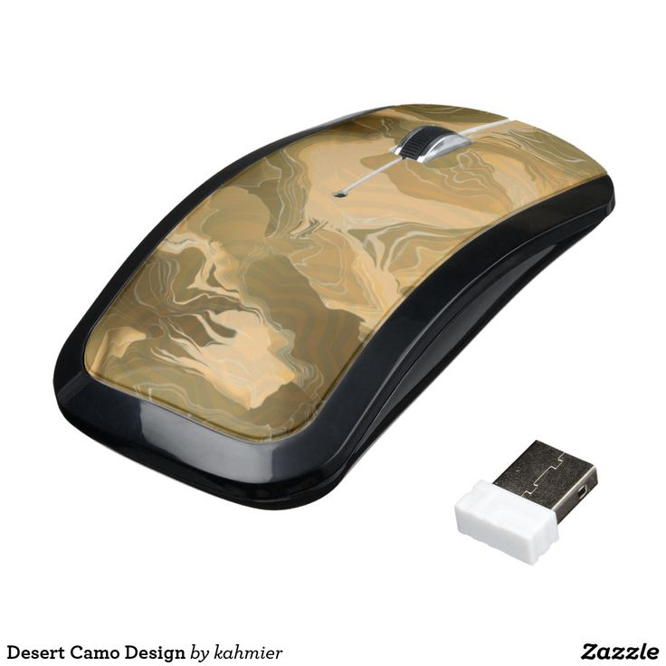 Sold Desert Camo Design Wireless Mouse