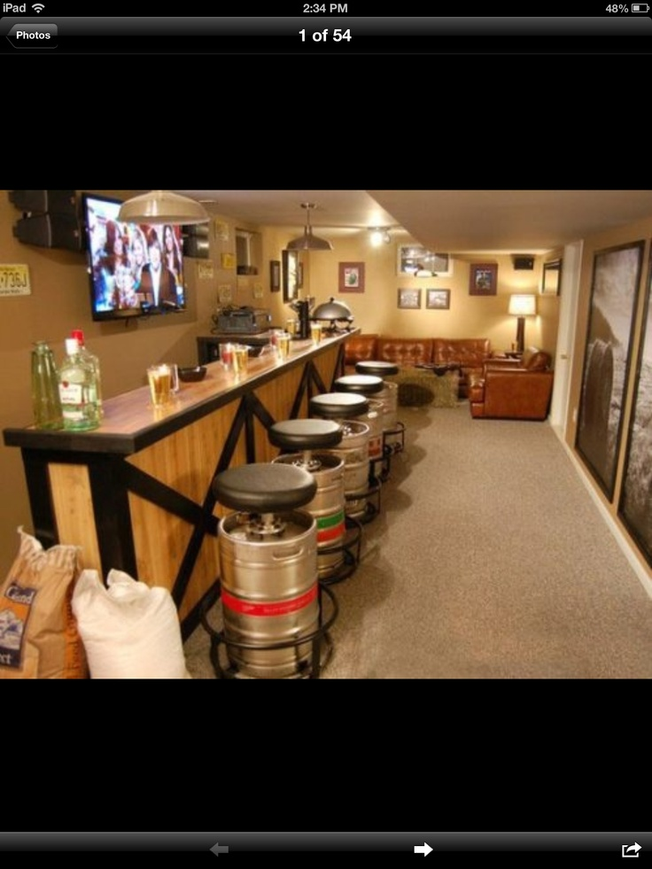 Man Cave Beer Bar : Best images about man cave ideas on pinterest