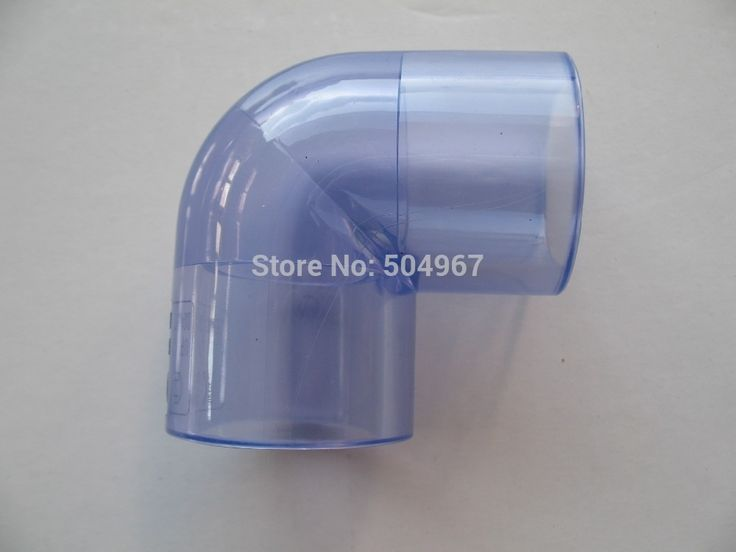 """30.00$  Watch here - http://aizbk.worlditems.win/all/product.php?id=1903085799 - """"clear pvc elbow with size 4"""""""" high quality with best price, SCH80"""""""