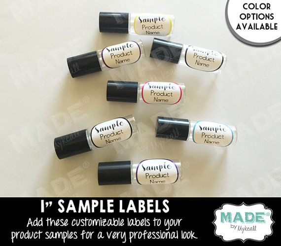 1 SAMPLE LABELS Direct Sales Inspired Sample by MadebyMykeall