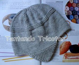 Tentando Tricotar: Gorro Peruano -  8 a 10 anos = COM RECEITA