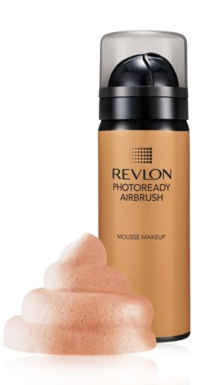 Revlon Photoready Airbrush Makeup     Love this foundation...I wore Bare Minerals for years. It seemed to settle into my lines so I decided to check this out when I got on a video by gossmakeupartist.  He recommended it and Real Techniques brushes (Ulta...very reasonably priced and soooooo soft).  Bought them both...LOVE 'EM!