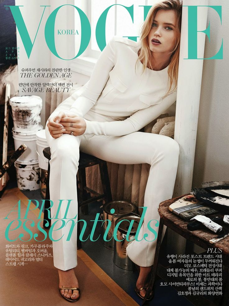 Actress, Model @ Abbey Lee Kershaw by Rafael Stahelin for Vogue Korea, April 2015