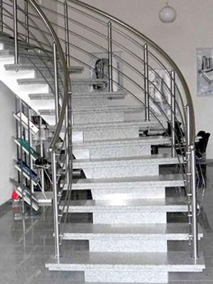 Granit Treppen freitragende und Spindeltreppen
