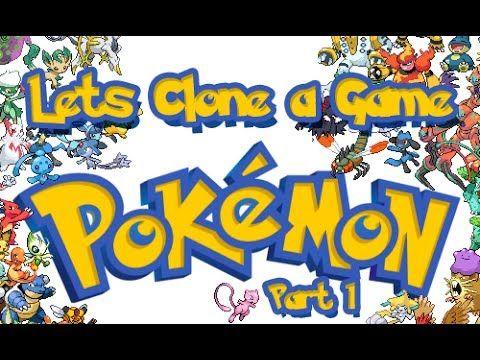 Unity3d Lets Clone a Game [ Pokemon ] - Part 1