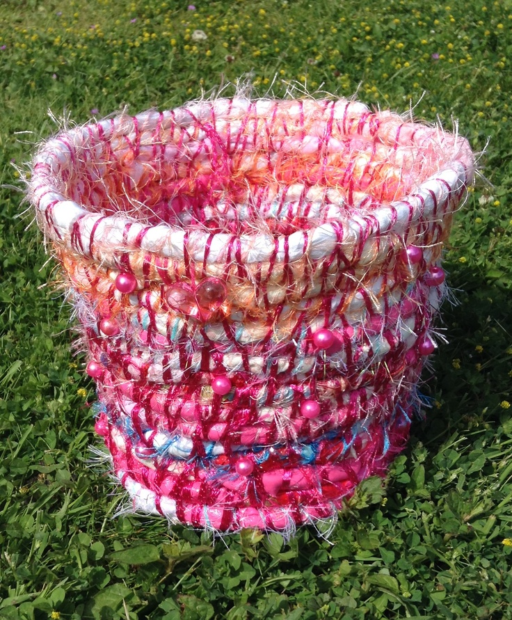 Beautiful Handmade Fabric Bowl by Claire and Emma