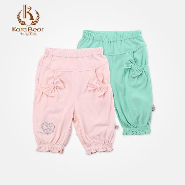 Детские джинсы и штаны из Китая :: Кара медведь детский сад летом новые девушки мечты хлопок штаны, Детская одежда может открыть обрезанные брюки.