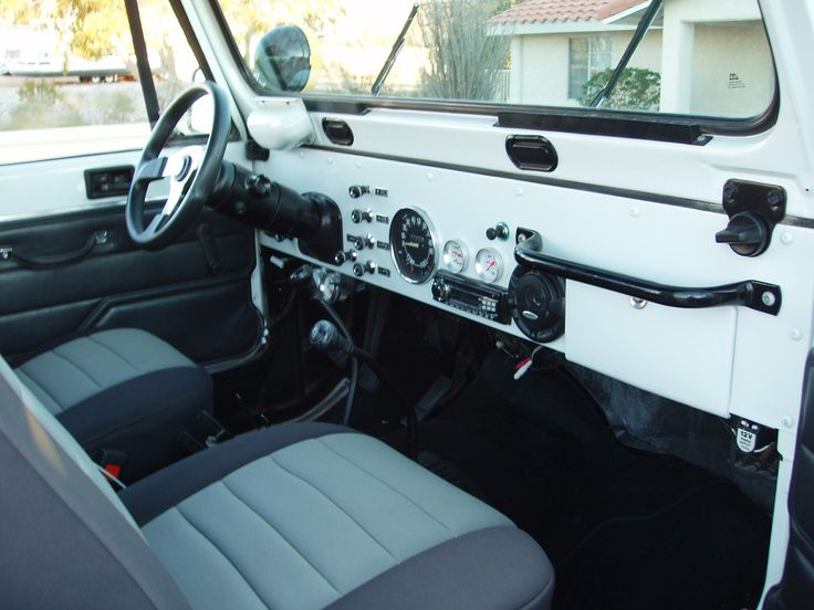 Love the inside of the old jeeps