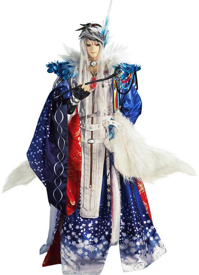 """""""Thunderbolt Fantasy"""" - Kōsuke Toriumi as the voice of  Lǐn Xuě Yā / Lüè Fēng Qiè Chén / Guǐ Niǎo (Lin Setsu A / Ryō Fu Setsujin / Kichō), character designed by Shinov Mimori"""