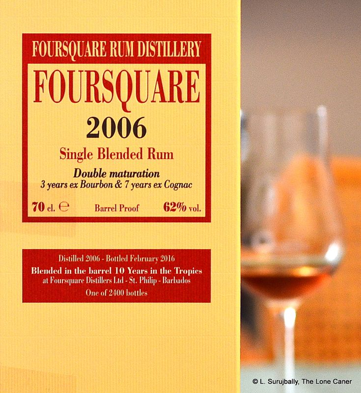 Velier FourSquare 2006 Ten Year Old Barbados Rum Review