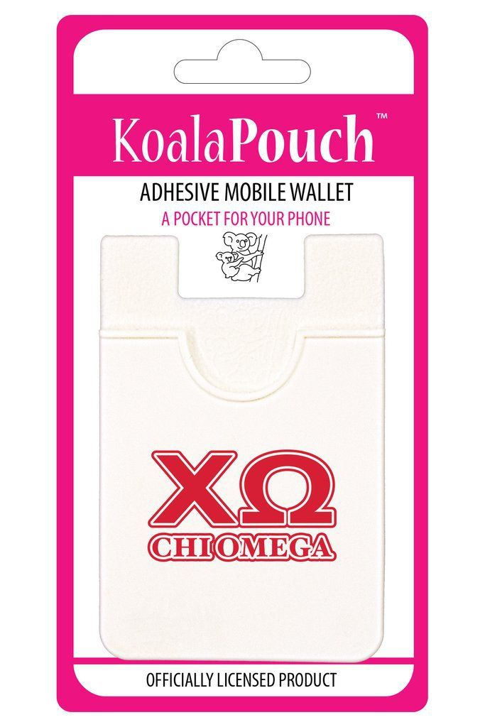 Chi Omega Sorority Koala Pouch - Brothers and Sisters' Greek Store