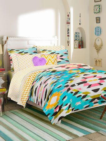Love this bed!!!!! Check Out Teen Vogue's Bedding Collection | TeenVogue.com