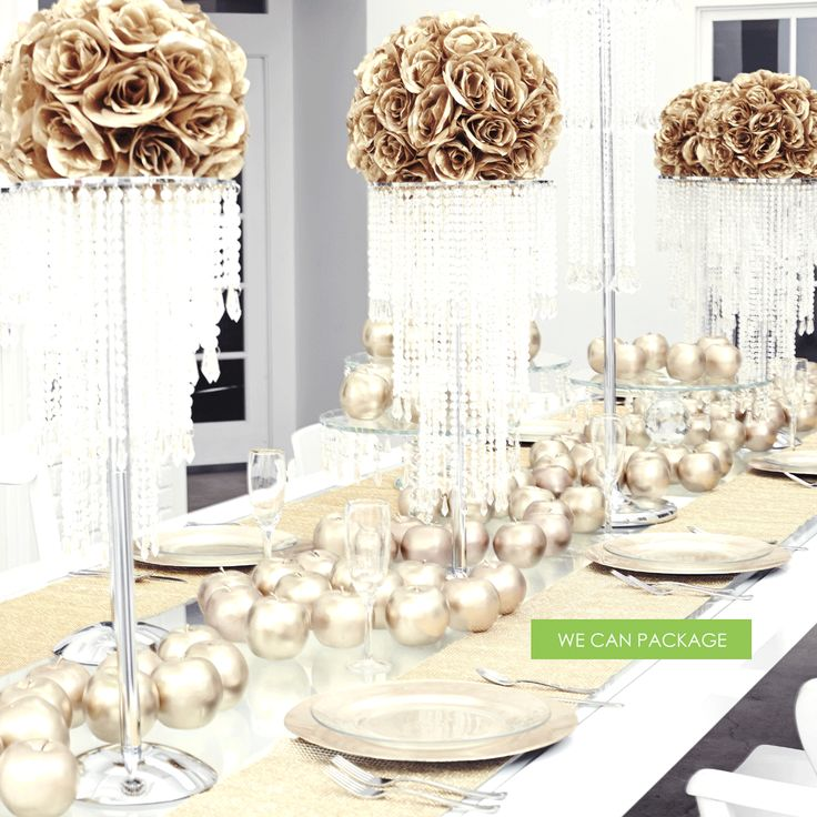 Gold Wedding Decorations: 25+ Best Chandelier Centerpiece Ideas On Pinterest