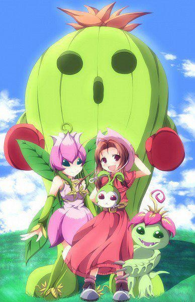 digimon adventure 01 - mimi and palmon's forms