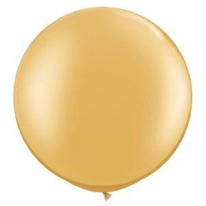 Jumbo Balloon - Metallic Gold