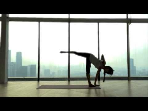 Rocket Yoga - Standing sequence by Annie Au - All Yoga Thailand - YouTube