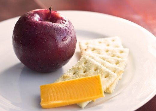 Military Diet: Lose Up To Ten Pounds In Three Days  ***  BREAKFAST DAY THREE ***  5 saltine crackers ~ 1 slice cheddar cheese ~ 1 small apple