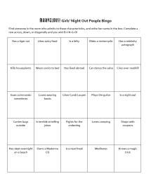 People Bingo Game Instructions, Cards, Ideas: How to Make People Bingo Cards