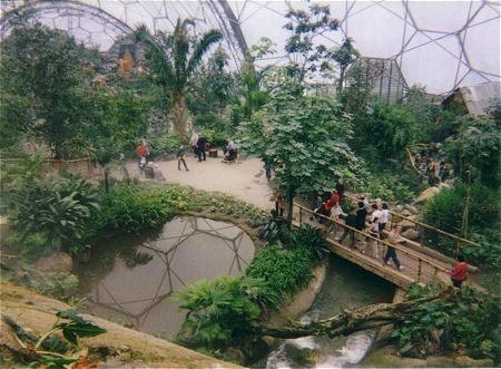 The Eden Project, St Blazey, Nr St Austell, Cornwall,