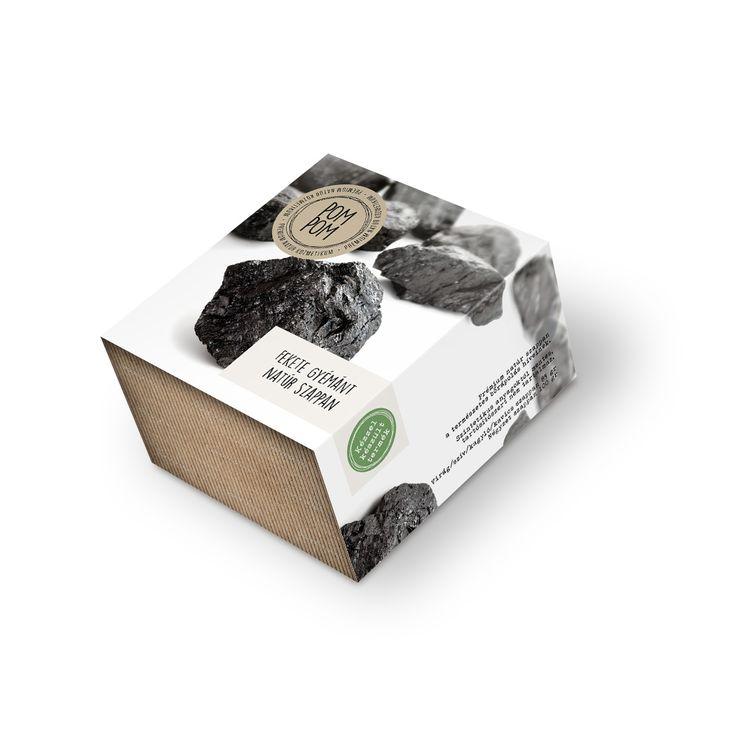 Fekete gyémánt natúr szappan * Black diamond natural soap