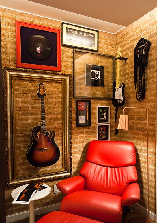 Estúdio de música em casa - Revista Sua Casa