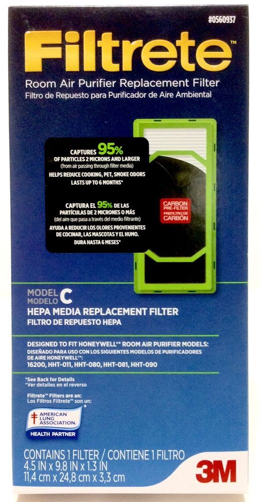 NEW 3M Filtrete Room Air Purifier Replacement Filter Model