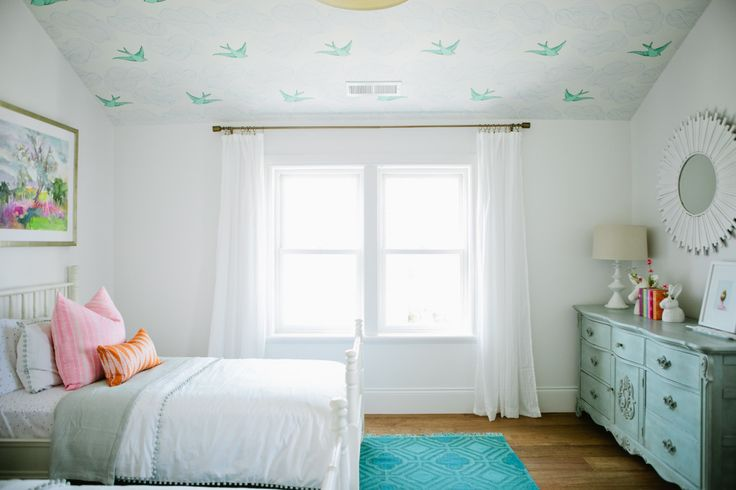 The Modern Farmhouse Project Girl's Bedroom - House of Jade Interiors Blog