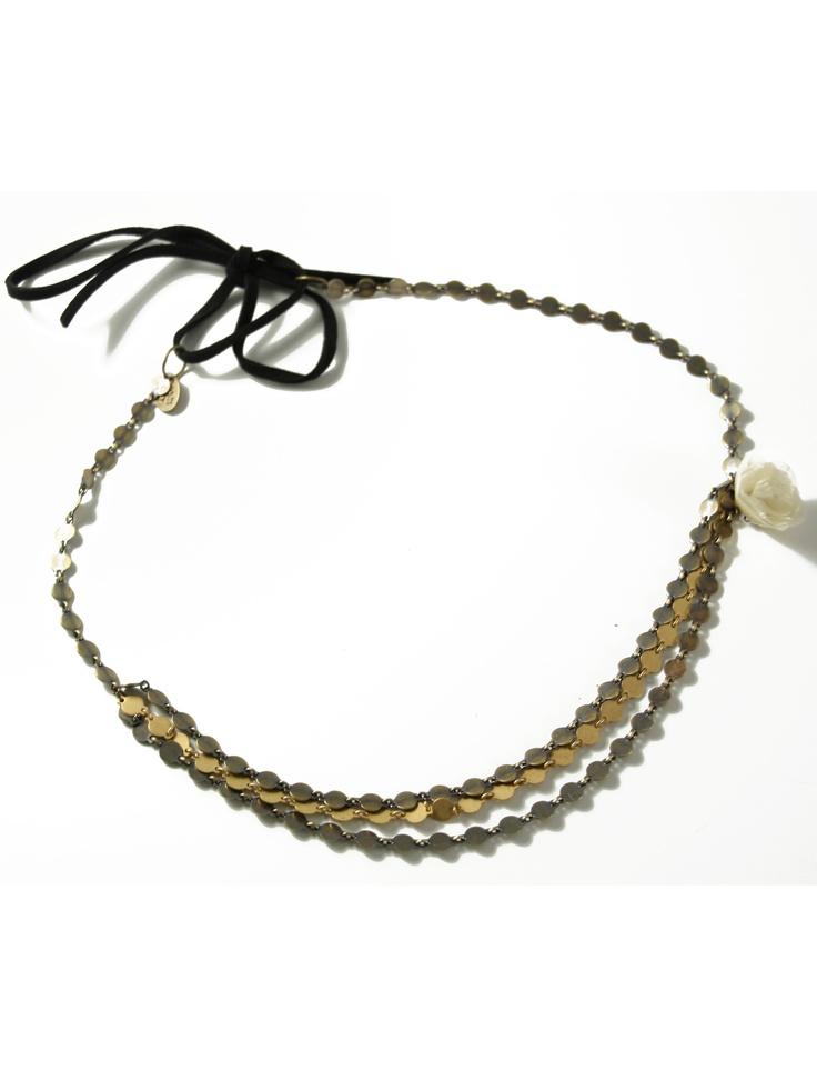 Joe - Headband 3 chaines  L'Atelier des Dames  http://www.eboutique.latelierdesdames.fr