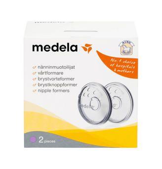 Ainu Medela Nänninmuotoilijat antavat naiselle, jolla on litteät tai sisäänpäin kääntyneet nännit mahdollisuuden valmistella nännejä imetykselle.  http://www.ainu.fi/tuotteet/ainu-medela-nanninmuotoilijat
