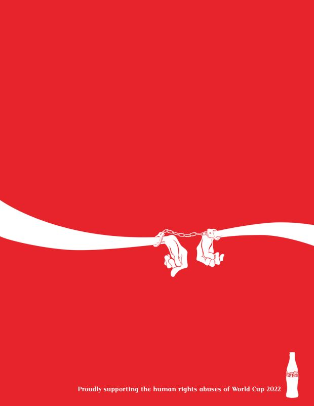 World Cup Logos Redesigned To Protest Labor Abuses In Qatar - UltraLinx