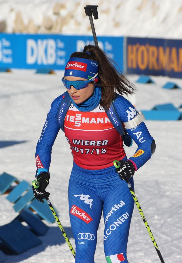 Pin by Biathlon Wintersport on Dorothea Wierer Ski women