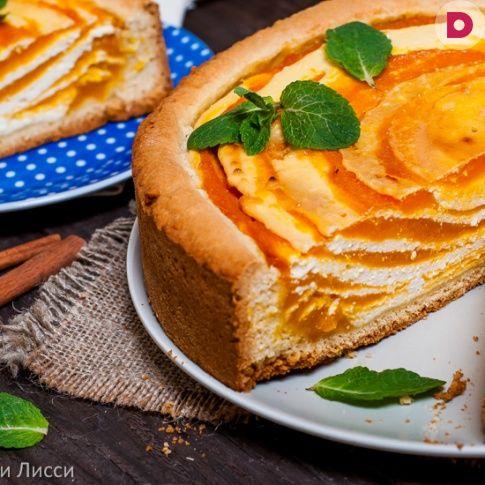 Нежный, легкий, в меру сладкий, с приятным ароматом сочной <br /> тыквы – этот творожный пирог с мраморной…