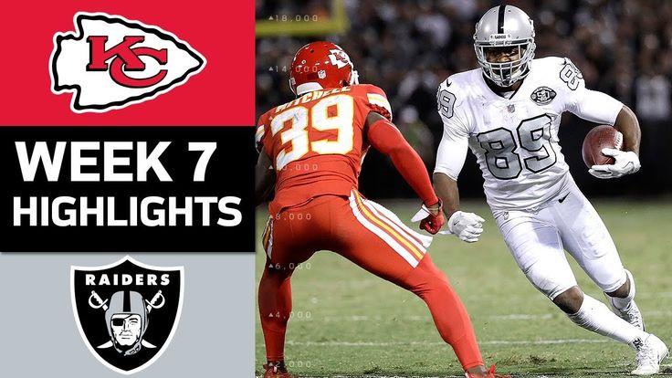 Chiefs vs. Raiders | NFL Week 7 Game Highlights - YouTube