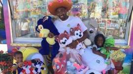 Gilbert Arenas banned from county fair after winning all the prizes