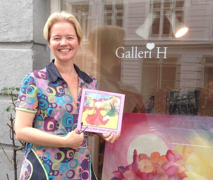 Galleri H ved Mette Hansgaard med børnebogen Gopelina og Blob danser jitterbug