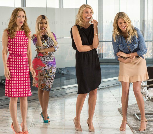 Can't wait to see this! - Still of Cameron Diaz, Leslie Mann, Nicki Minaj and Kate Upton in The Other Woman (2014)