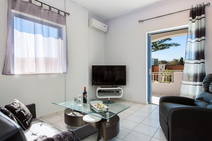 Villa Maria, Pigi village, Rethymno, Crete, Greece sinatsakisvillas.gr #villa #rethymno #crete #greece #village #island #vacation_rental #luxurious_accommodation #private #summer_in_crete #visit_greece #livingroom