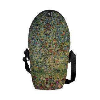 Apple Tree by Gustav Klimt, Vintage Art Nouveau Courier Bags