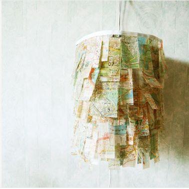 ...map chandelier...neat!