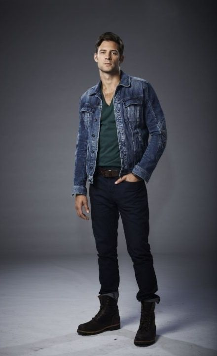 I mean, lord have mercy - Steve Lund aka Nicholas Sorrento from the Bitten series on syfy.