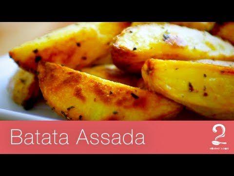 Receita de Batatas Assadas com Alecrim (Melhor que Outback!) | Gourmet a dois - YouTube