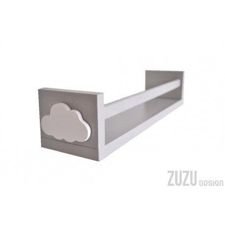 Półka na książki z chmurką