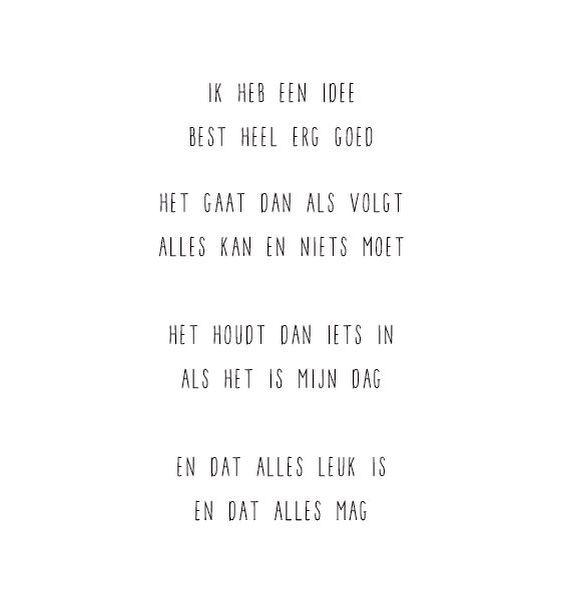 Gewoon JIP. #positieve #woorden #gedichtje