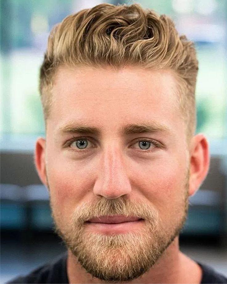 #2017 #baard #blond #kort #opgepnipt #zomer